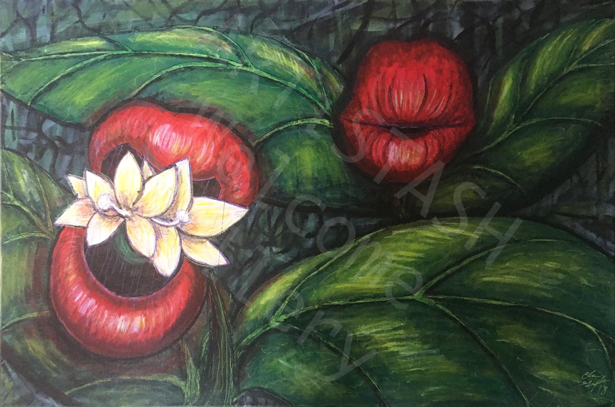 Elisa Groglio Floral Hellscape V