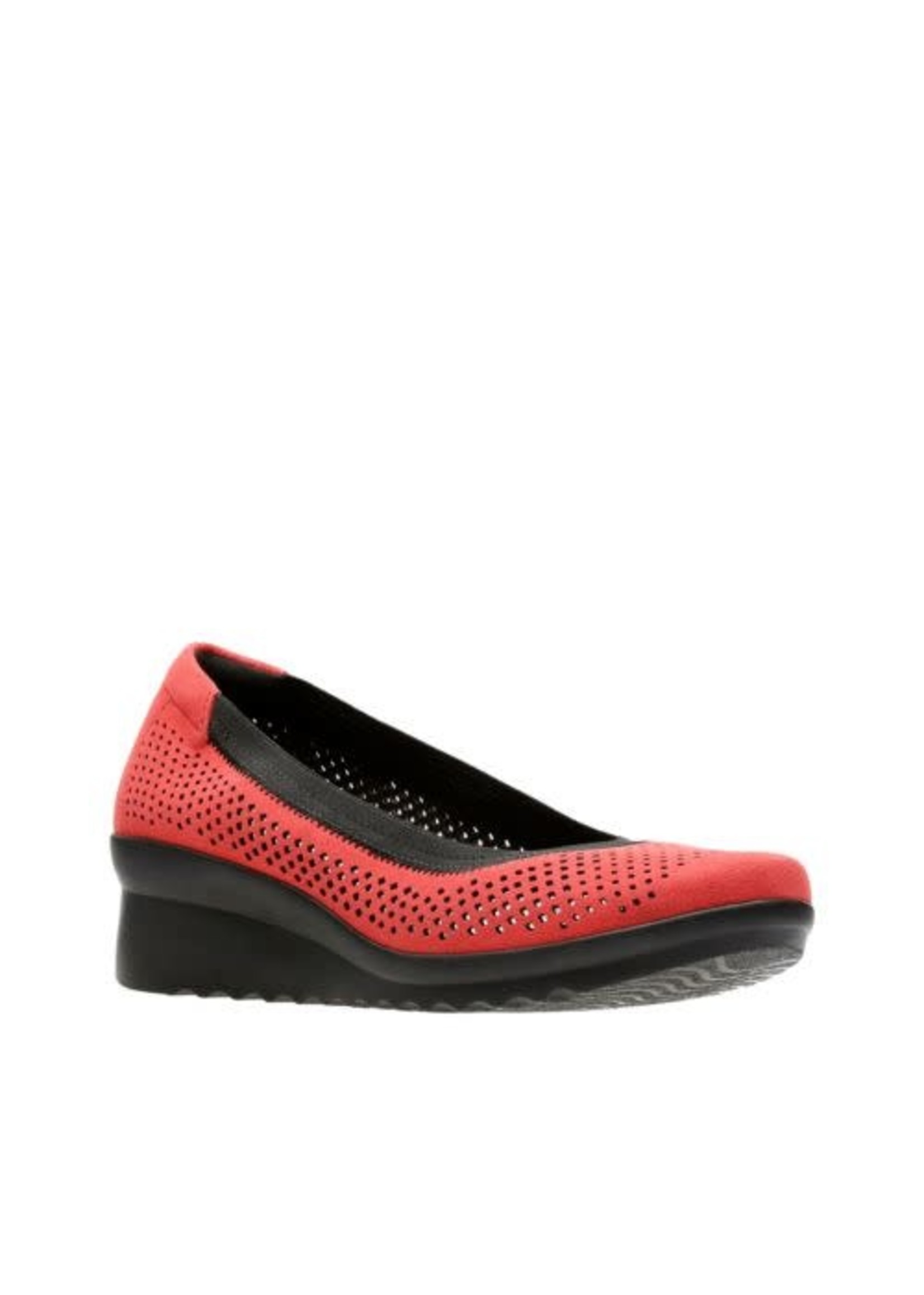 CLARKS CLARKS- CADDELL TRAIL- RED TEXTILE