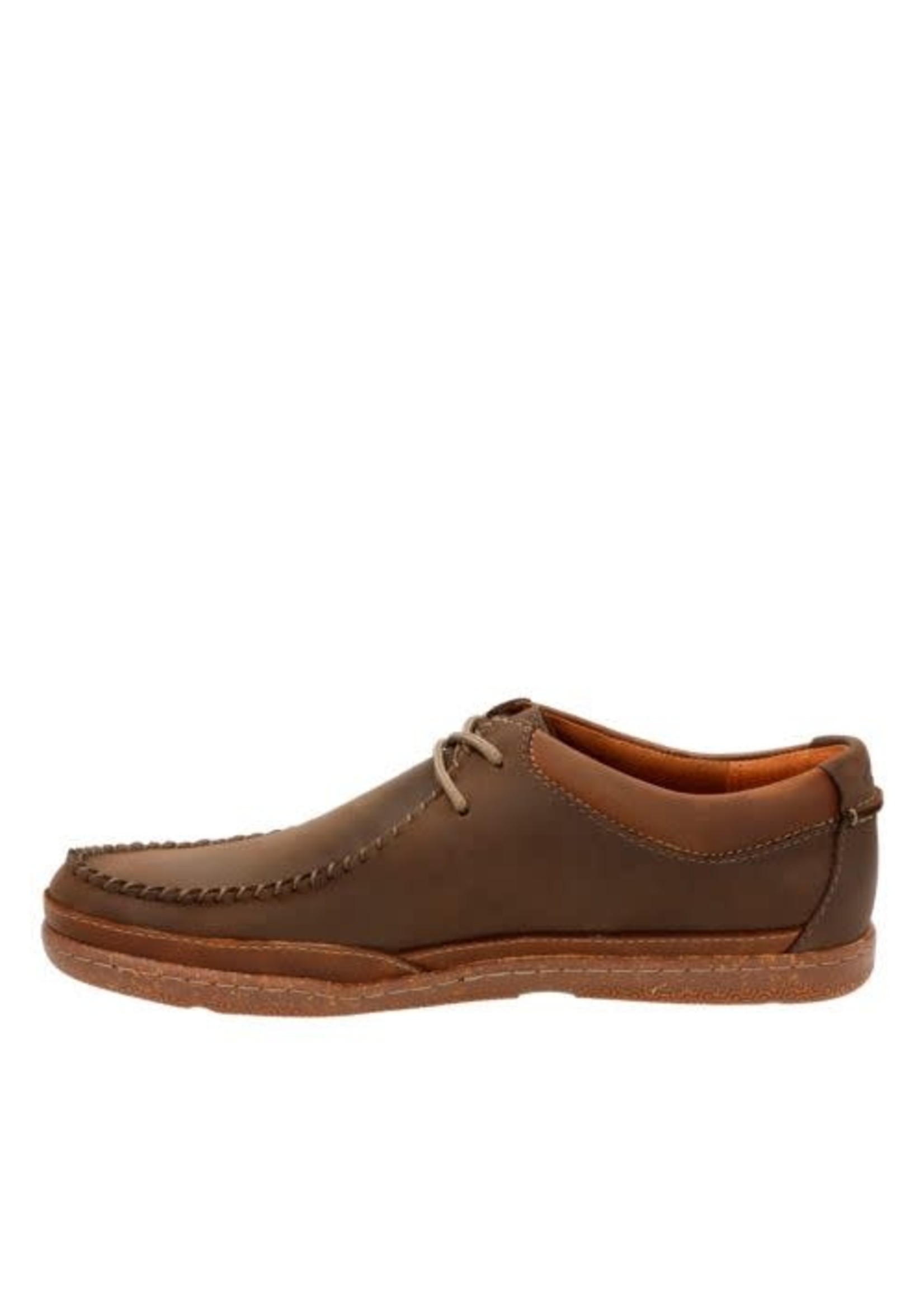 CLARKS CLARKS- TRAPPEL PACE- DARK BROWN LEATHER