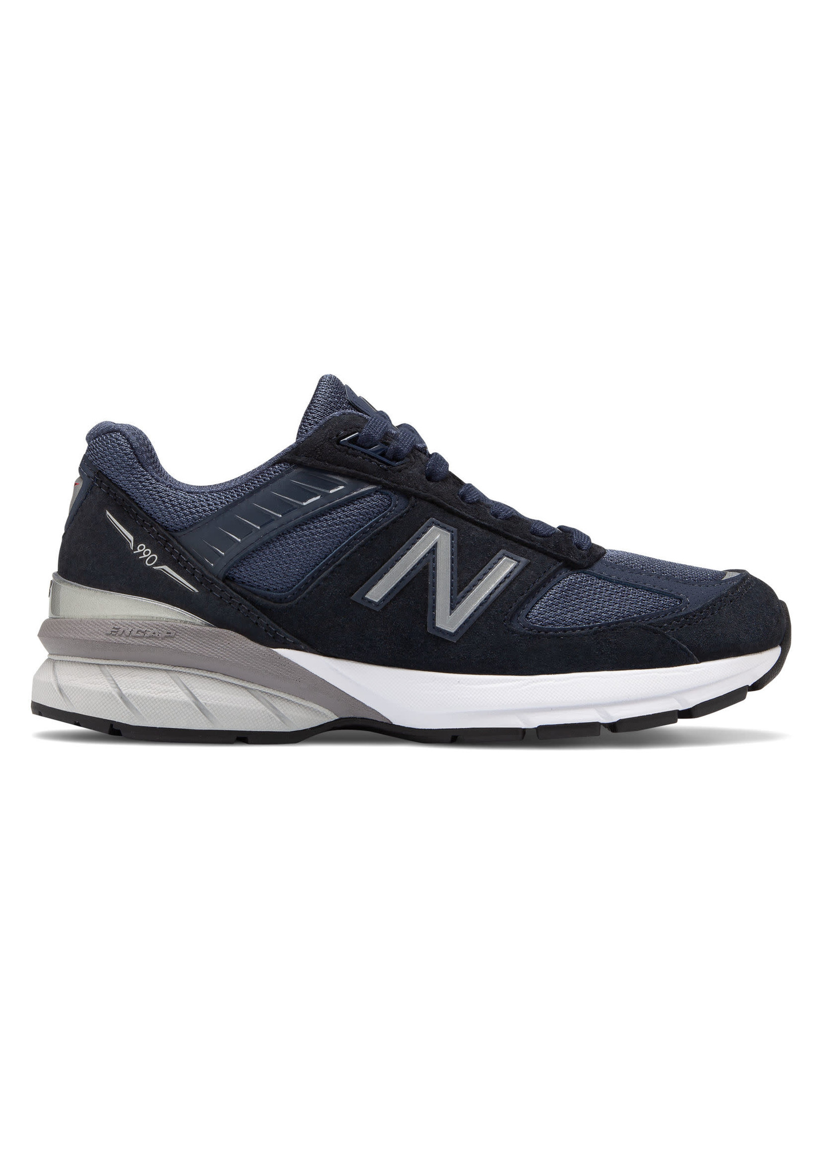 NEW BALANCE NEW BALANCE- WOMENS- W990NV5- NAVY WITH SILVER