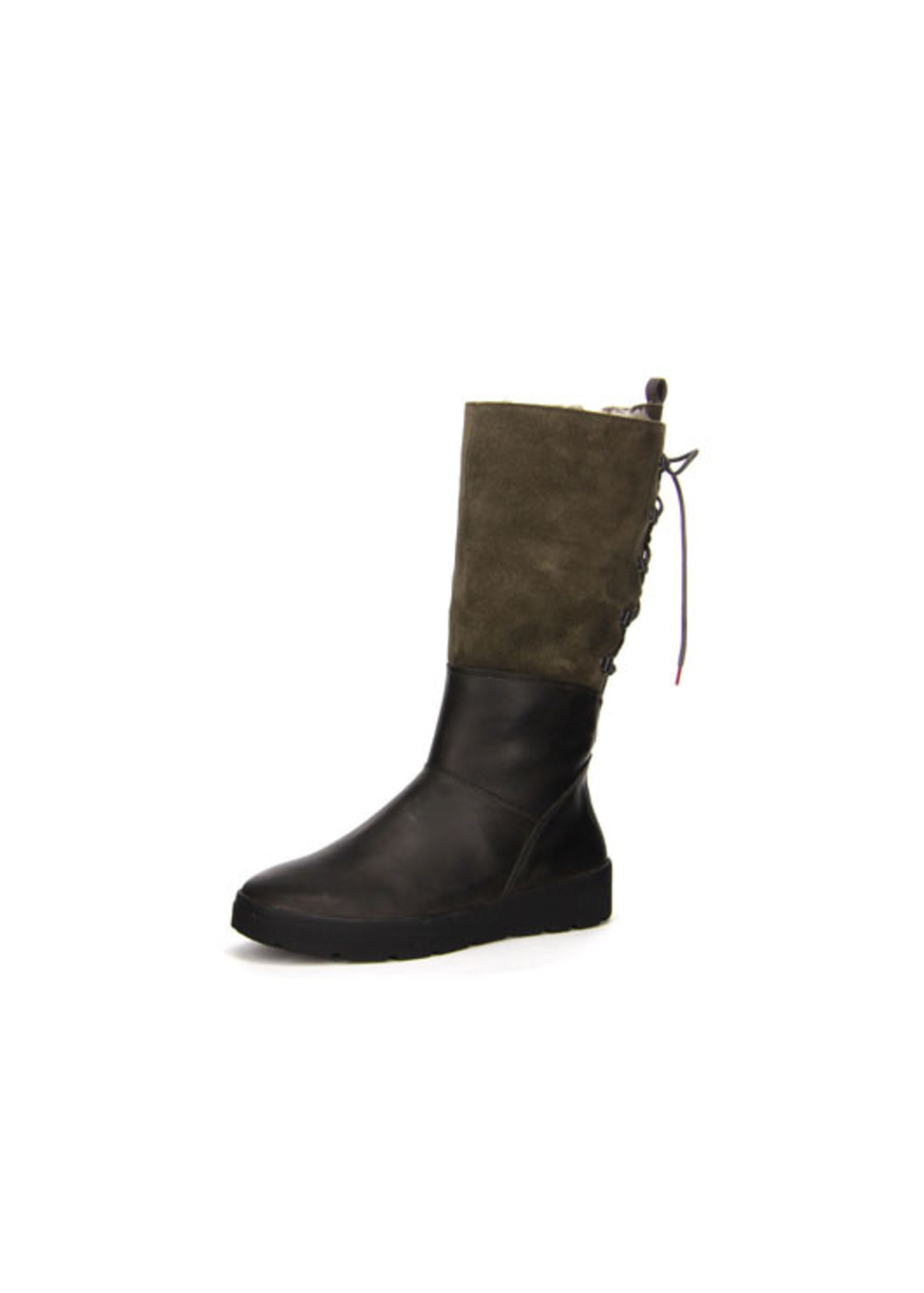 THINK THINK- DRUNTA HIGH SHEARLING WP- ANTHRACITE
