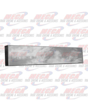 FRONT BUMPER UNIV 20'' BOXED PLAIN (NO HOLES)