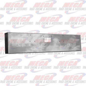 VALLEY CHROME BUMPER PB 379 22'' BOXED TOW HOLE