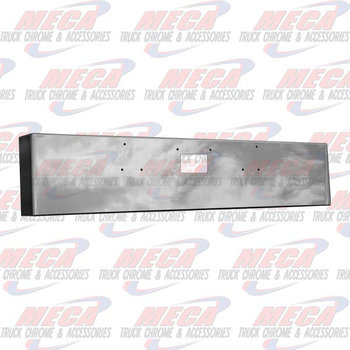 VALLEY CHROME BUMPER PB 379 20'' BOXED TOW HOLE