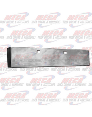 FRONT BUMPER KW W900L 18'' BOXED TOW CHROME