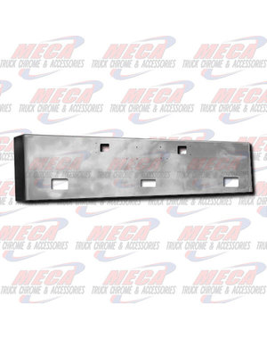 FRONT BUMPER KW W900L 20'' BOXED W/ TOW, FOG & STEP HLS