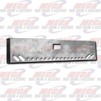 VALLEY CHROME BUMPER PB 379 18'' BOXED TOW 4 OVAL ANGL, 15 -2''