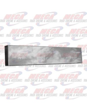 FRONT BUMPER BOXED END 20'' PB 379 NO MOUNTING HOLES