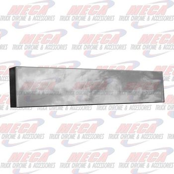 VALLEY CHROME BUMPER BOXED END 20'' PB 379 NO MOUNTING HOLES