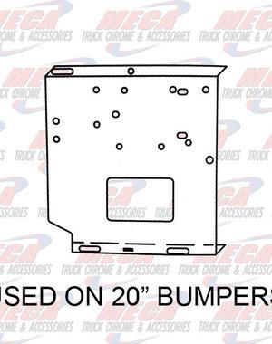 FRONT BUMPER UNIV BRACKETS SET 20'' (SEE INFO)