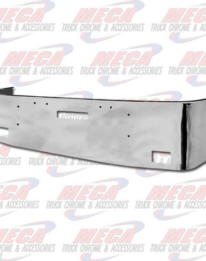 FRONT BUMPER FL FLD 18'' SS FOG & TOW HOLE