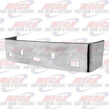 VALLEY CHROME BUMPER FL CENTURY 1996-2004 20'' S/S TOW FOG STEP BRACKETS INCLUDED