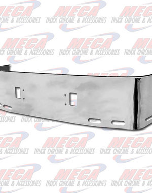 FRONT BUMPER FL CENTURY 20'' 1996-2004 S/S TOW, 6-OVAL HL