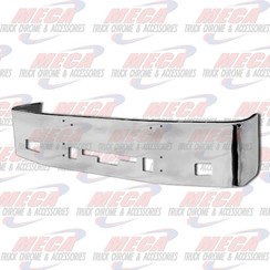 BUMPER 20'' CENTURY 2005-07 & COLUMBIA 2004-07 S/S FOG TOW STEP AIR VENT, BRACKETS INCLUDED
