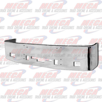 VALLEY CHROME BUMPER 20'' CENTURY 2005-07 & COLUMBIA 2004-07 S/S FOG TOW STEP AIR VENT, BRACKETS INCLUDED