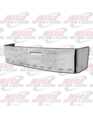 FRONT BUMPER FL FLD 18'' SS TOW W/ 11 BB LEDS CLEAR AMBER