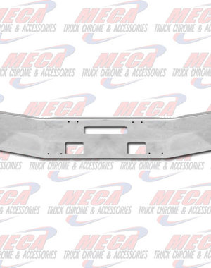 FRONT BUMPER FL 120 W/ 6'' BREAK BACK TOW, FOG 92'' LONG