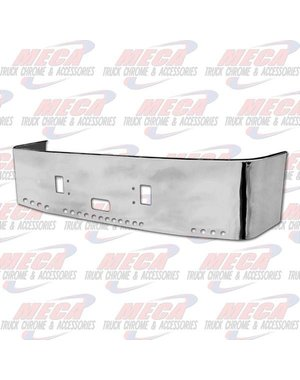 FRONT BUMPER FL CTRY 20'' SS W/TOW STEP & 20-2'' HLS 96-04