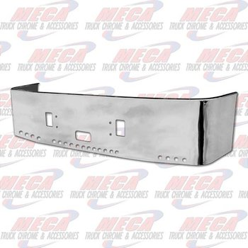 VALLEY CHROME BUMPER FL CTRY 20'' SS W/TOW STEP & 20-2'' HLS 96-04