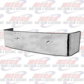 VALLEY CHROME BUMPER KW T660 22'' SS TOW ONLY