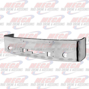 VALLEY CHROME BUMPER 18'' FL CENTURY & COLUMBIA 05+ S/S 9 BB LTS