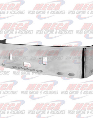 FRONT BUMPER FL CTRY 20'' SS W/TOW, STEP &11 BB LTS 96-04