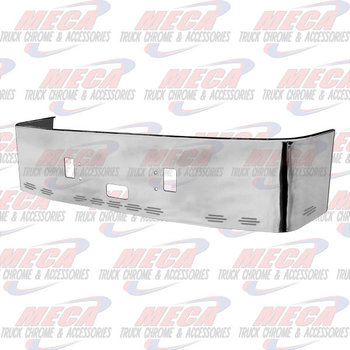 VALLEY CHROME BUMPER FL CENTURY 1996-2004 20'' S/S TOW STEP & 11 BB LIGHTS, BRACKETS INCLUDED