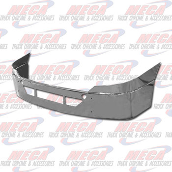 VALLEY CHROME BUMPER FL CASCADIA 18'' CHROME W/ TOW & STEP