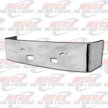 VALLEY CHROME BUMPER KW T660 22'' SS TOW & FOG