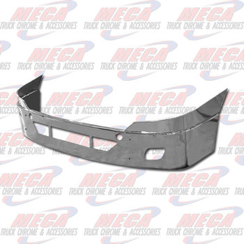VALLEY CHROME BUMPER FL CASCADIA 18'' CHROME W/ TOW, STEP & OEM FOG HLS