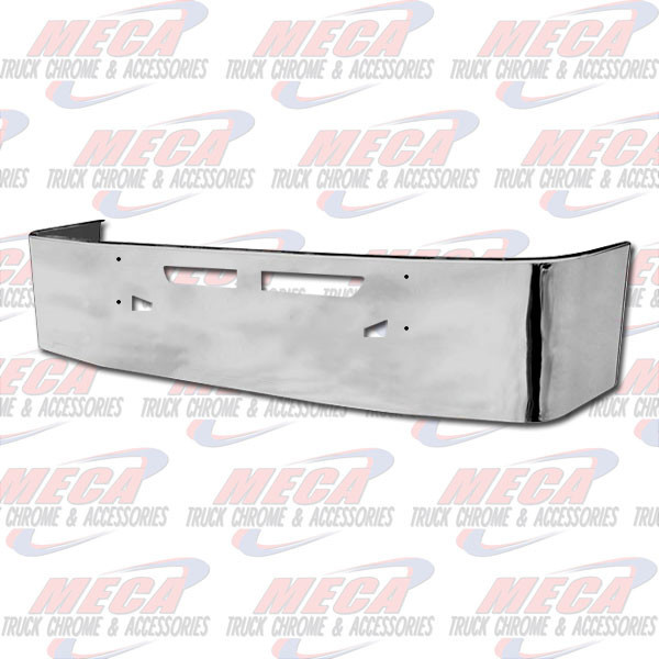 FRONT BUMPER KW T660 20'' S/S TOW HOLE & VENT HOLE