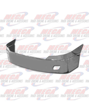 FRONT BUMPER FL CASCADIA 18'' SS W/ FOG REPLACES ORIG SS