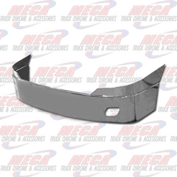 VALLEY CHROME BUMPER FL CASCADIA 18'' S/S W/ FOG REPLACES ORIG SS