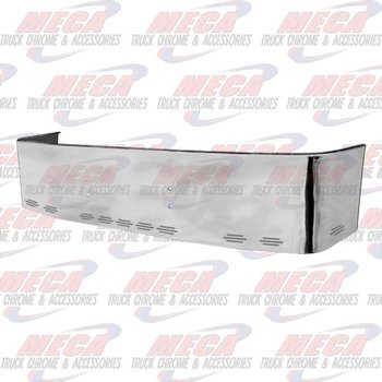 VALLEY CHROME BUMPER FL CENTURY 1996-2004 18'' S/S PLAIN & 11 BB LIGHTS, BRACKETS INCLUDED