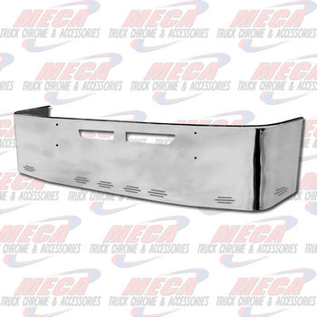 VALLEY CHROME BUMPER KW T660 22'' SS VENT HLS & 8  BB LTS