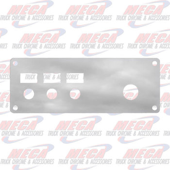 PANEL IGNITION SWT KW SS 3 HOLE 95+