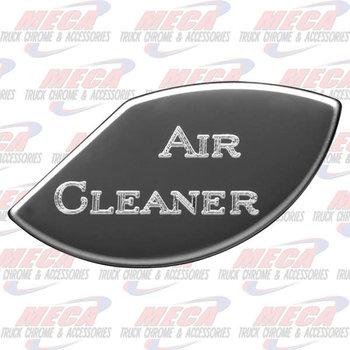 GAUGE PLATE KW AIR CLEANE CLEANER EMBLEM
