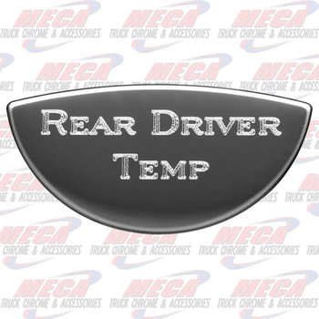 GAUGE PLATE KW REAR DRIVE DRIVER TEMP EMBLEM