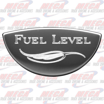 GAUGE PLATE KW FUEL LEVEL EMBLEM