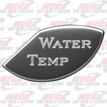 GAUGE PLATE KW WATER TEMP SMALL EMBLEM