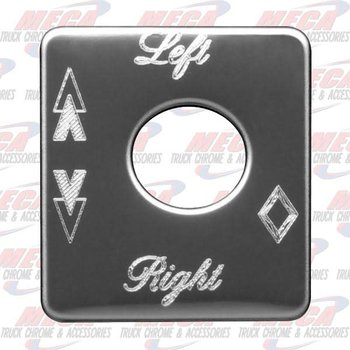PLATE LEFT/RIGHT PB