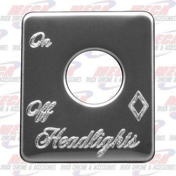 PLATE HEADLIGHT PB