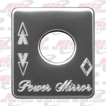 PLATE POWER MIRROR PB
