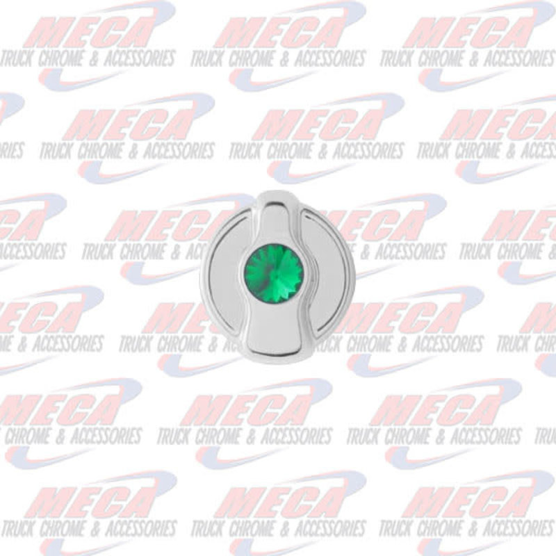 A/C KNOB W/ GREEN DIAMOND PB 2005 & OLDER