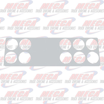 DASH PANEL TRIM KW S/S 2006+ 10 HOLES