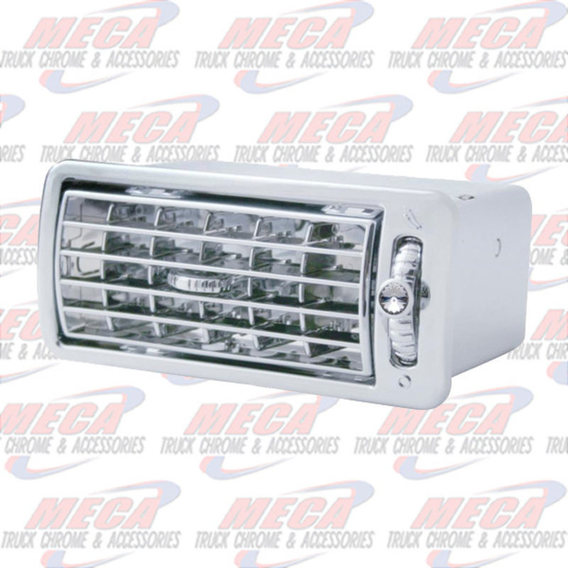 A/C VENT VOLVO CLEAR VN & VT MODELS CHROME PLASTIC