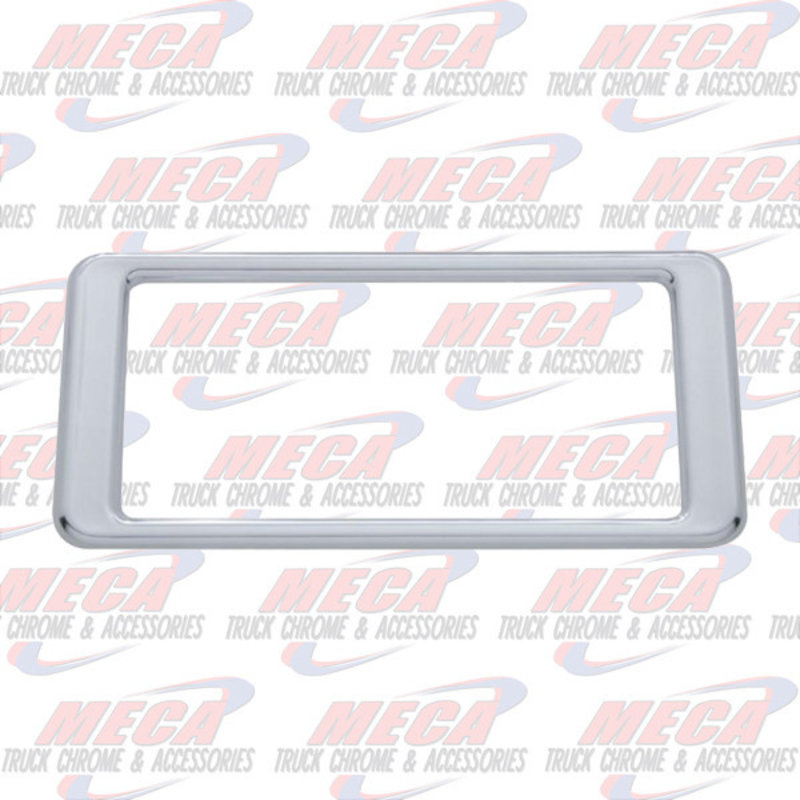 A/C CONTROL TRIM PETERBILT 387 PLASTIC CHROME