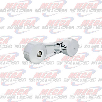 WINDOW CRANK HANDLE PLAIN CHROME KW SLOTTED