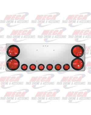 """REAR CENTERPIECE S.S. 4-4"""" RND LTS AND 6-2"""" RND LTS"""