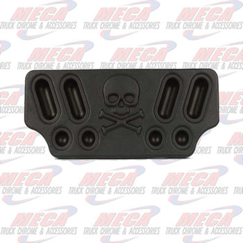 CENTER PANEL BLACK SKULL POLY MINIMIZER